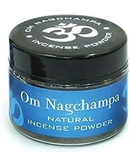 Om Nagchampa自然Incense Powder Slow Burn 20 g