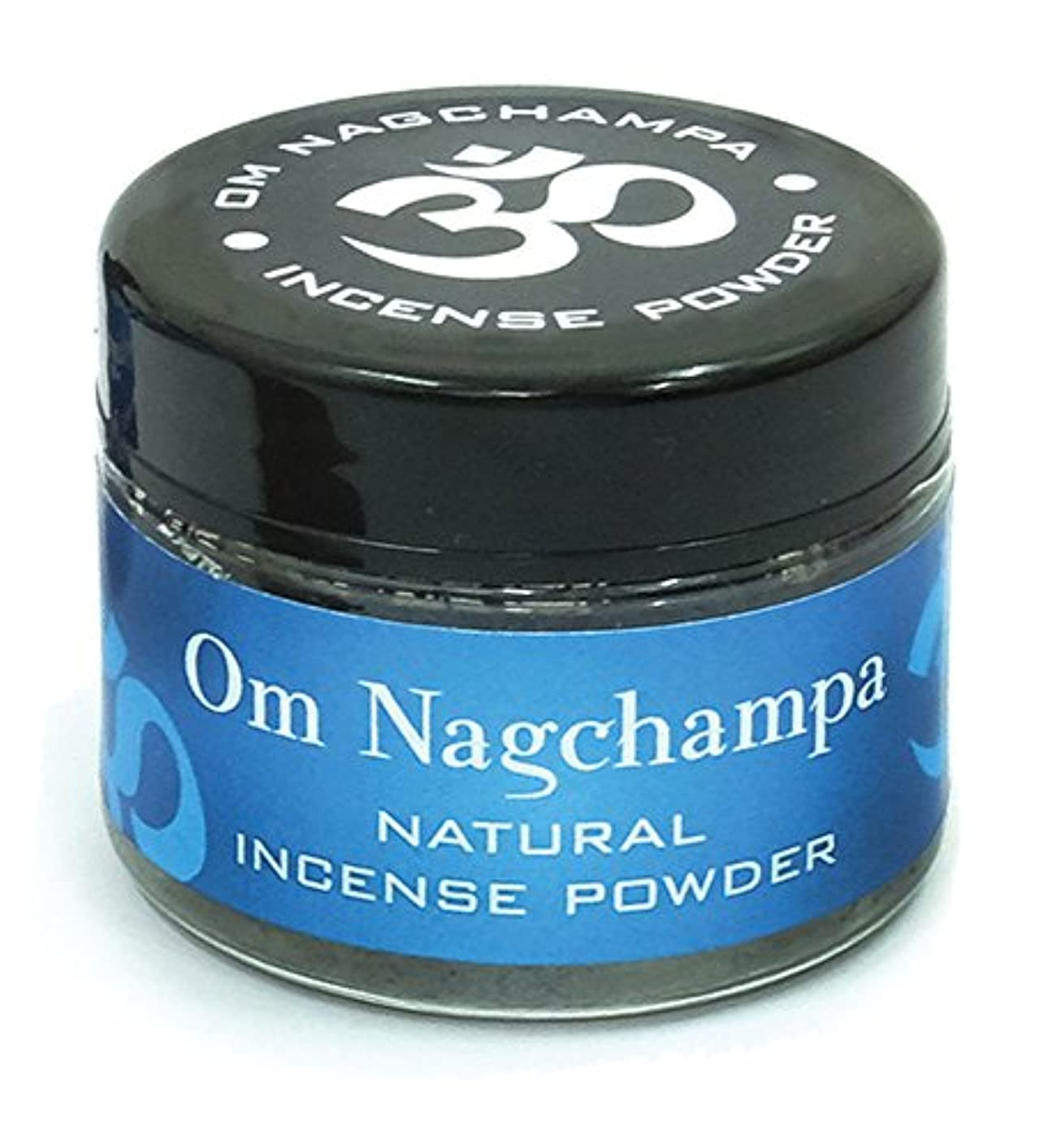 Om Nagchampa自然Incense Powder Slow Burn 20 g