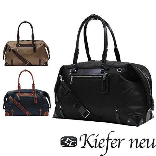 (キーファーノイ)Kiefer neu ボストンバッグ KFN3304L ルーチェ ベージュ/チョコ