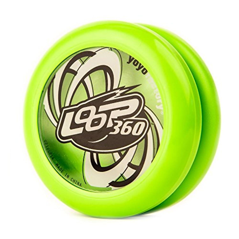 YoYoFactory Loop 360 Yo-Yo - Green [並行輸入品]