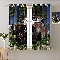 カーテンパネル ハトメ 装飾 遮光カーテン 家庭用遮光カーテン リビングルーム用 遮光カーテン カーテン/パネル/ドレープ W27.5 x L39