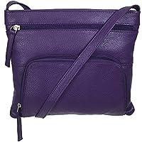 Pielino Genuine Leather RFID Travel Crossbody Handbag