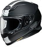 ショウエイ(SHOEI) バイクヘルメット フルフェイス Z-7 FLAGGER(フラッガー) TC-5(WHITE/BLACK) M (頭囲 57cm)