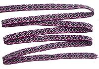 ペルー アンデス ワンカイヨ 民族織物 紐 長さ5m 幅約1.5cm OT-022O