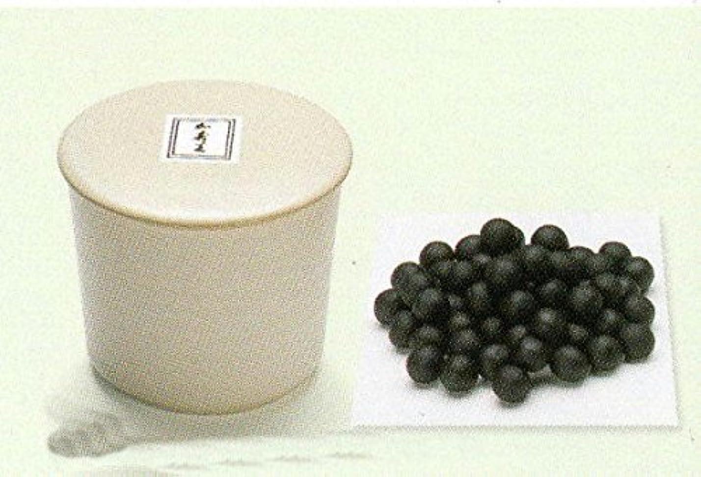 抗生物質ローマ人ステッチ松栄堂 練香 彩雲 陶器容器入