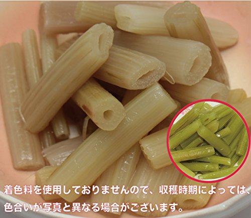 北海道物産のこだわり食材 国産ふき水煮 120g×3袋