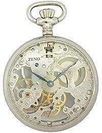 [ゼノ ウォッチ]ZENO WATCH 懐中時計 手巻き スケルトン スモールセコンド SWISS MADE ZT-TU-S-Klein 【正規輸入品】