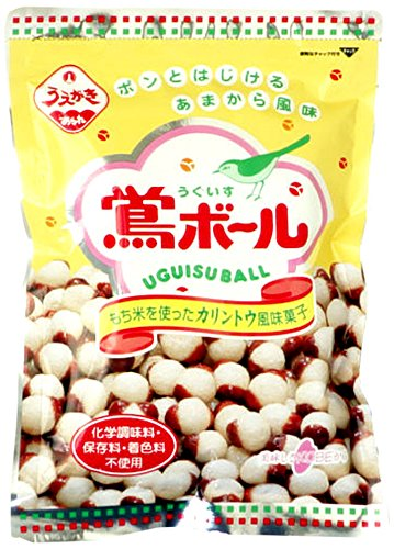 うぐいすボール/植垣米菓 大阪のお土産