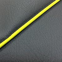 GRONDEMENT(グロンドマン) スペイシー125(JF04)【ダークグレー/黄色パイピング】(張替)■グロンドマン国産シートカバー