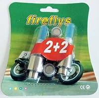 バイク タイヤエアバルブ用 車輪灯・ホイールLEDライト・LED装飾灯 赤・青・緑 3種類「120-0006」 (緑)