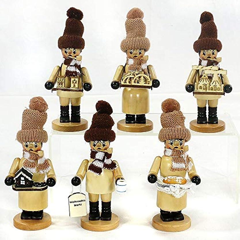規範東ティモールに対してSigro 6 詰め合わせ クリスマス マーケット 販売者 ニット帽 お香 スモーカーフィギュア 16cm 木製ベージュ ワンサイズ