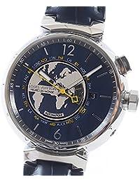 [ルイヴィトン]LOUISVUITTON 腕時計 タンブール ワールドタイマー Q1055A 中古[1293404] ネイビー