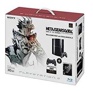 PLAYSTATION 3(40GB) メタルギア ソリッド 4  ガンズ・オブ・ザ・パトリオット WELCOME BOX with DUALSHOCK 3 クリアブラック【メーカー生産終了】