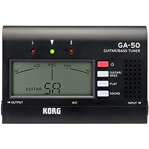 KORG チューナー ギター/ベース用 GA-50