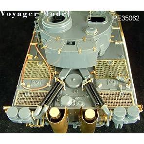 WWⅡ ドイツ軍 タイガーⅠ初期型用 タミヤ35275キット対応[PE35062] 1/35 Tiger I Early Version (For TAMIYA 35275)