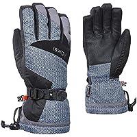 KOMBI (コンビ)31811 The Original Mens Glove 1441 Black-White Chevron メンズ グローブ スノーボード スキー サイズ-M