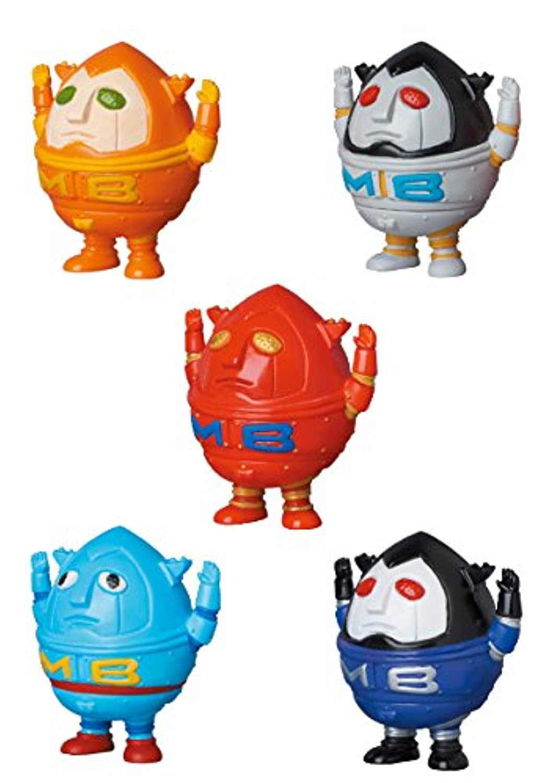 VAG3 スーパーロボット マッドバロン ZOLLMEN 金子ヨヲヘイ 全5種 VinyL ARtiSt GaCHa メディコム?トイ