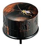 黒柿虫籠香合 鈴虫 KE02-003