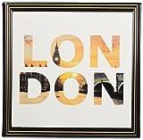アートデリ ポスター パネル ロンドン 30cm × 30cm 日本製 軽量 ファブリック popa-1712-07-01