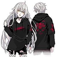 Fate/Grand Order Alter ジャンヌ・ダルク/オルタ 印象パーカー コスプレ衣装 男女兼用 秋冬服 (Alter レッド,XL)