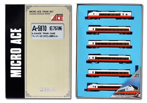Nゲージ A5810 E751系スーパーはつかり6両セット