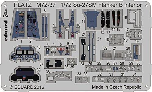 プラッツ 1/72 航空模型特選シリーズ Su-27SM フ...