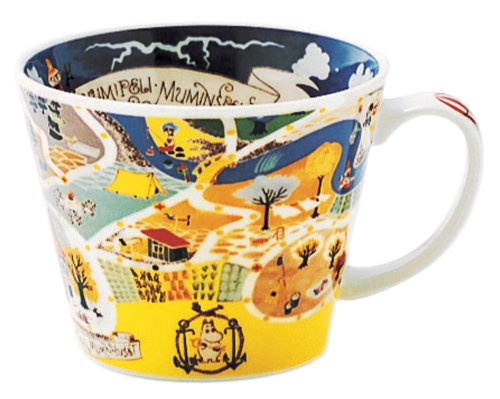 MOOMIN (ムーミン) 「ニューボン」 スープカップ(スープマグ) マップ MM322-36