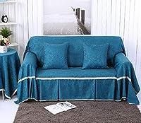 ファブリックソファータオル、家具カバー、オールインクルーシブ、ノンスリップ、4シーズン用ユニバーサル、洗濯可能な洗濯機,5,200*350cm