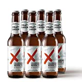 Crossroads Brewing Lager beer, 330 ml (Pack of 6)