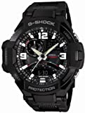 [カシオ] 腕時計 ジーショック SKY COCKPIT スカイコックピットシリーズ 方位・温度センサー搭載 フライトコンポジットバンド採用 GA-1000FC-1AJF ブラック