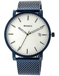 スカーゲン SKAGEN ハーゲン HAGEN メッシュベルト クオーツ メンズ 腕時計 SKW6326 ホワイト/ネイビー [並行輸入品]