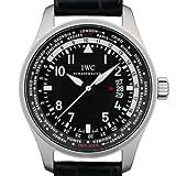 IWC(アイダブリューシー) 腕時計 パイロットウォッチ ワールドタイマー IW326201 中古