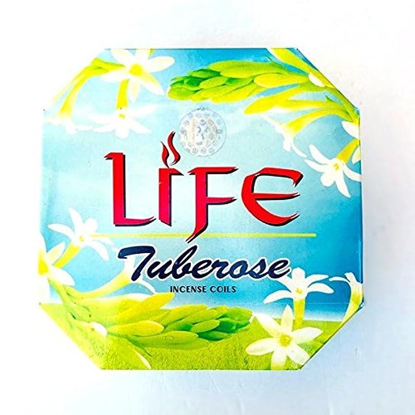 オリエンテーション摂氏度プラグバリタイ お香 LIFE/TUBEROSE チューブローズ【月下香】渦巻き香