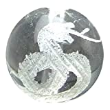 【hinryo】1粒売り A 干支 十二支彫 12mm 水晶 クリスタル 天然石 パワーストーン (巳……