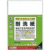 オキナ 耐水紙 プロジェクト耐水用紙 耐洗 5mm方眼 A4 30枚 PW3044