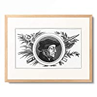 作者不明 「Ulrich Zwingli (1484-1531).」 額装アート作品