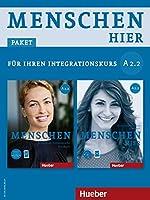 """Menschen hier A2/2. Paket: Kursbuch mit DVD-ROM und Arbeitsbuch mit Audio-CD: Deutsch als Zweitsprache / Paket: Kursbuch """"Menschen"""" mit DVD-ROM und Arbeitsbuch """"Menschen hier"""" mit Audio-CD"""