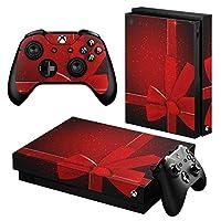 igsticker Xbox One X 専用 スキンシール 正面・天面・底面・コントローラー 全面セット エックスボックス シール 保護 フィルム ステッカー 001532
