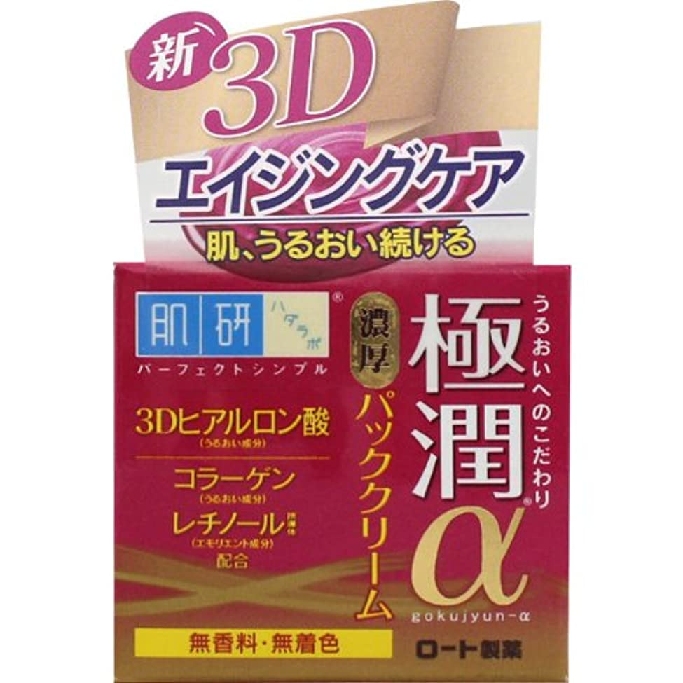 同性愛者六分儀シットコム肌研(ハダラボ) 極潤 αパッククリーム 50g