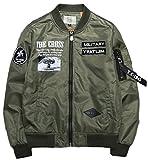 Heaven Days(ヘブンデイズ) ミリタリージャケット MA-1 フライトジャケット ワッペン 長袖 ma1 メンズ 1610G0770