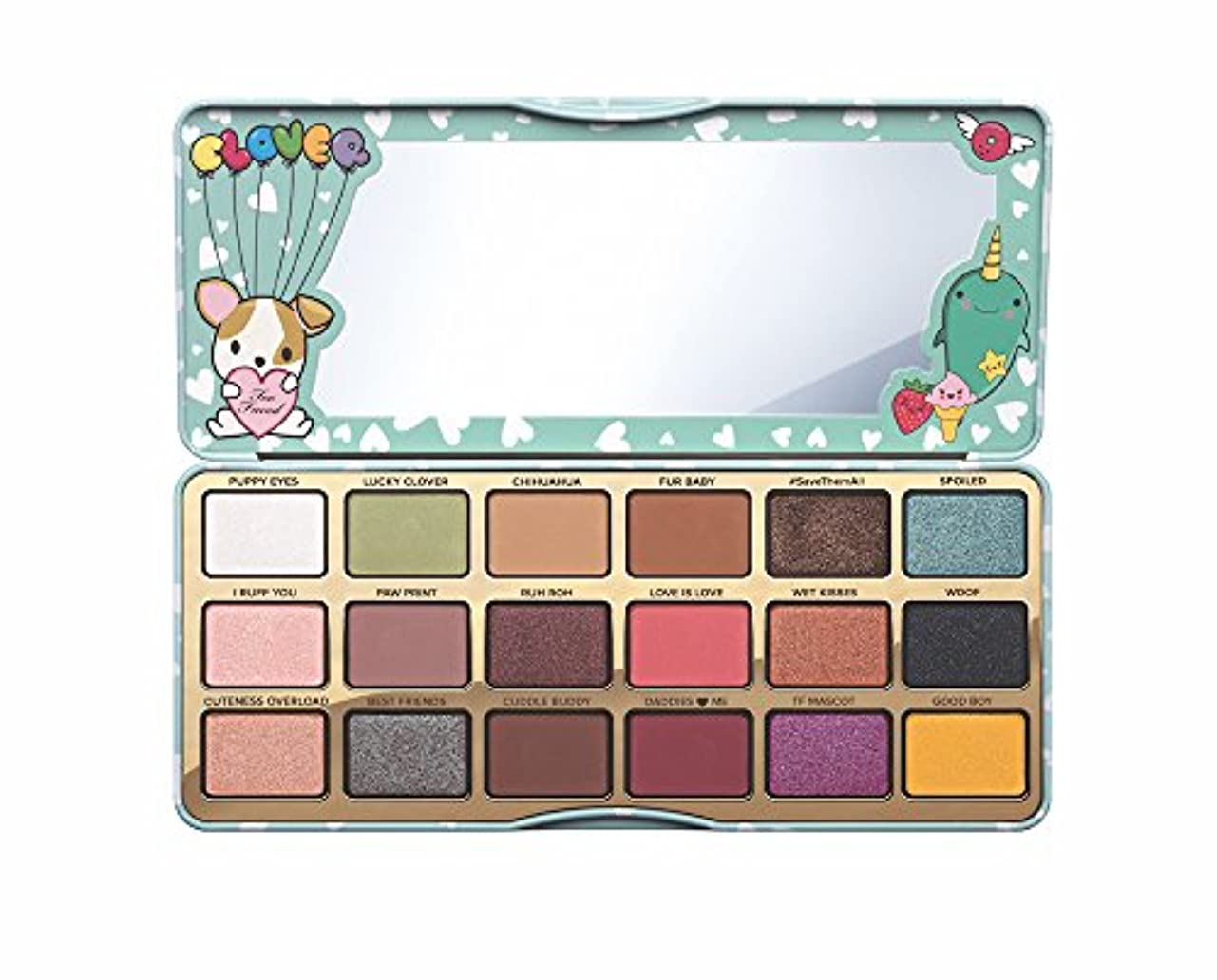 再開とげ参加者TOO FACED Clover A Girl's Best Friend Eye Shadow Palette