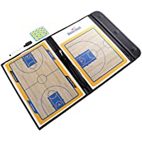 Perfk バスケットボールコーチングボード 作戦板  バスケットボール  作戦ボード  磁性 マグネット コーチ戦略指導 折りたたみ式 便利