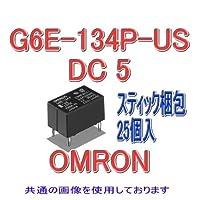 オムロン(OMRON) G6E-134P-US DC5 (25個入) マイクロリレー NN