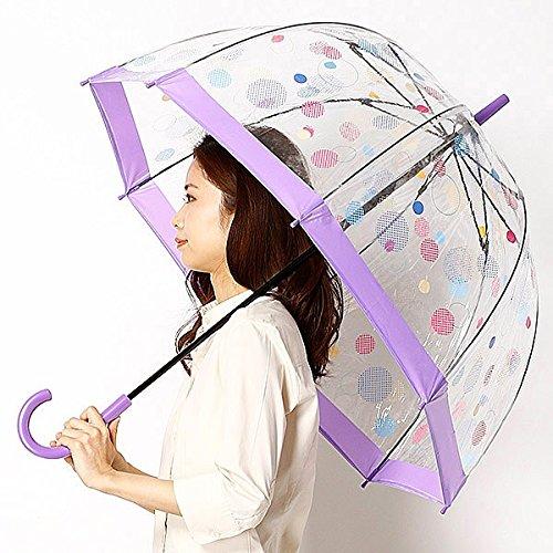 フルトン(FULTON) 【英国王室御用達】レディースビニール傘【83パープル/65】