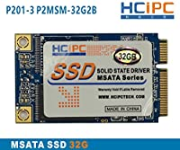 HcipC p201–3p2msm-32g2b 32G SSD mSATA MINI PCIE mSATA SSDソリッドステートドライブ、、、forタブレット、ミニボックスPC、工業用PC、ITXマザーボード
