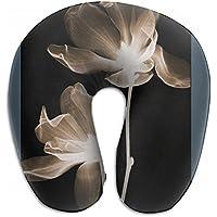 Merlin Quintina アラセイトウ 八重咲 グラジオラス 抱き枕 U字型クッション 首枕 ネッククッション 旅行ピロー360度快適な睡眠 子宮頸椎 保護 ポータブル