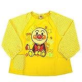 スモック ベビー&キッズ アンパンマン プリント 長袖スモック ポケット付 女の子 j-oa3613 90cm 黄色