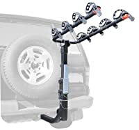 Allen Sports Premier Hitch Mounted 4-Bike Carrier for Vehicles with External Spare Tires [並行輸入品]