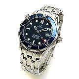 [オメガ]OMEGA 腕時計 シーマスター300 プロダイバー ミドル ネイビー文字盤 BOX ボーイズ 中古