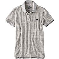 (アメリカンイーグル ) AMERICAN EAGLE/半袖 ワンポイント刺繍 ポロシャツ 大きい サイズ メンズ XL XXL XXXL [並行輸入品]